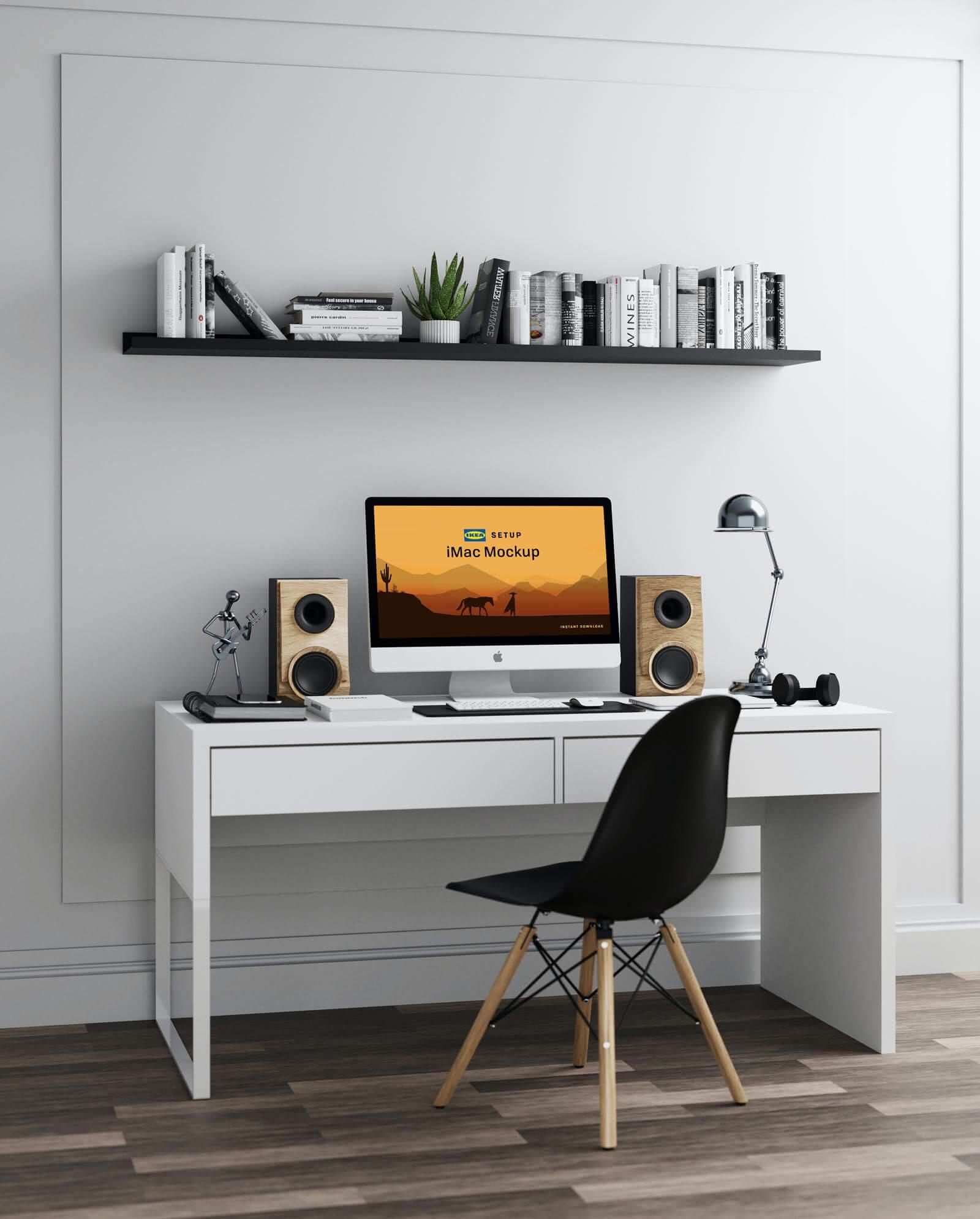 Free-IKEA-Workstation-iMac-Mockup-PSD