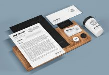 Free Neat Stationery Mockup PSD Set