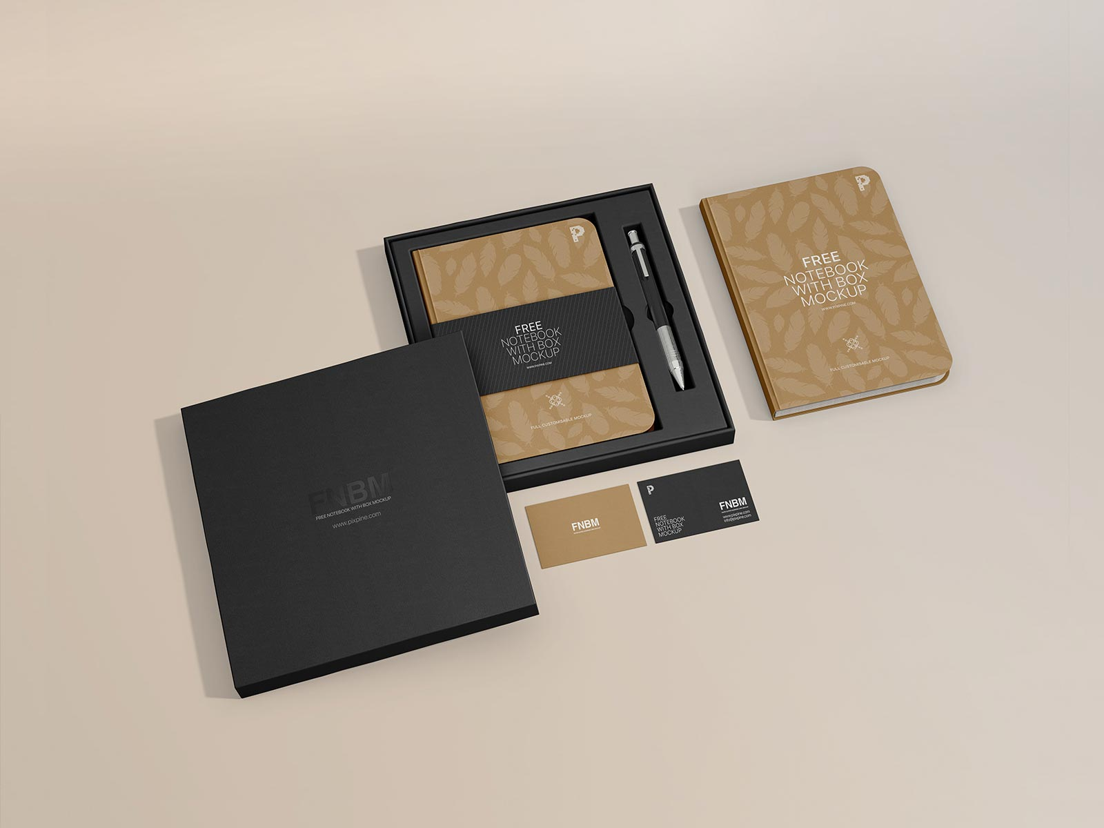Free-Notebook-In-Box-Packaging-Mockup-PSD
