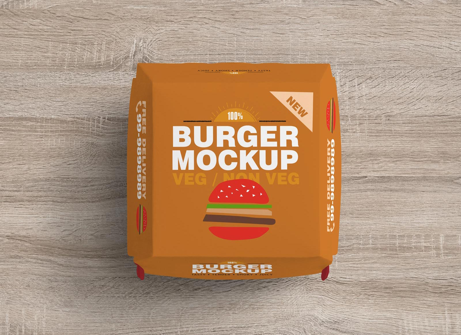 Free-Top-View-Burger-Packaging-Mockup-PSD