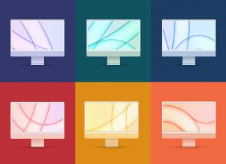Free-iMac-24-Inches-2021-Mockup-PSD-All-Colors