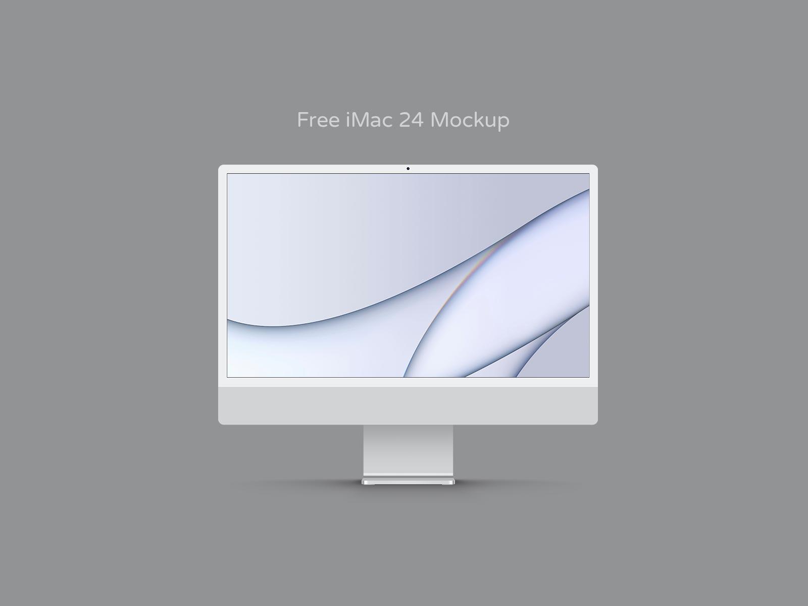 Silver-iMac-24-Mockup-PSD