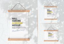 3-Free-Shadow-Wall-Hanging-Poster-Mockup-PSD-Set-(4