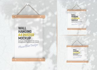 3-Free-Shadow-Wall-Hanging-Poster-Mockup-PSD-Set-(4