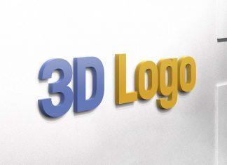 Free-3D-Logo-on-Wall-Mockup-PSD