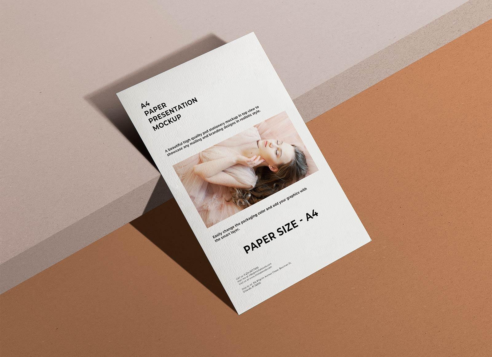 Free-A4-Paper-Flyer-Presentation-Mockup-PSD