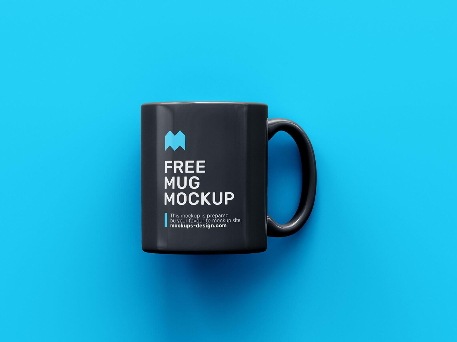 Free Ceramic Coffee Mug Mockup PSD Set
