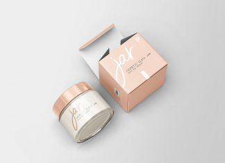 Free-Cosmetic-Glass-Jar-with-Box-Mockup