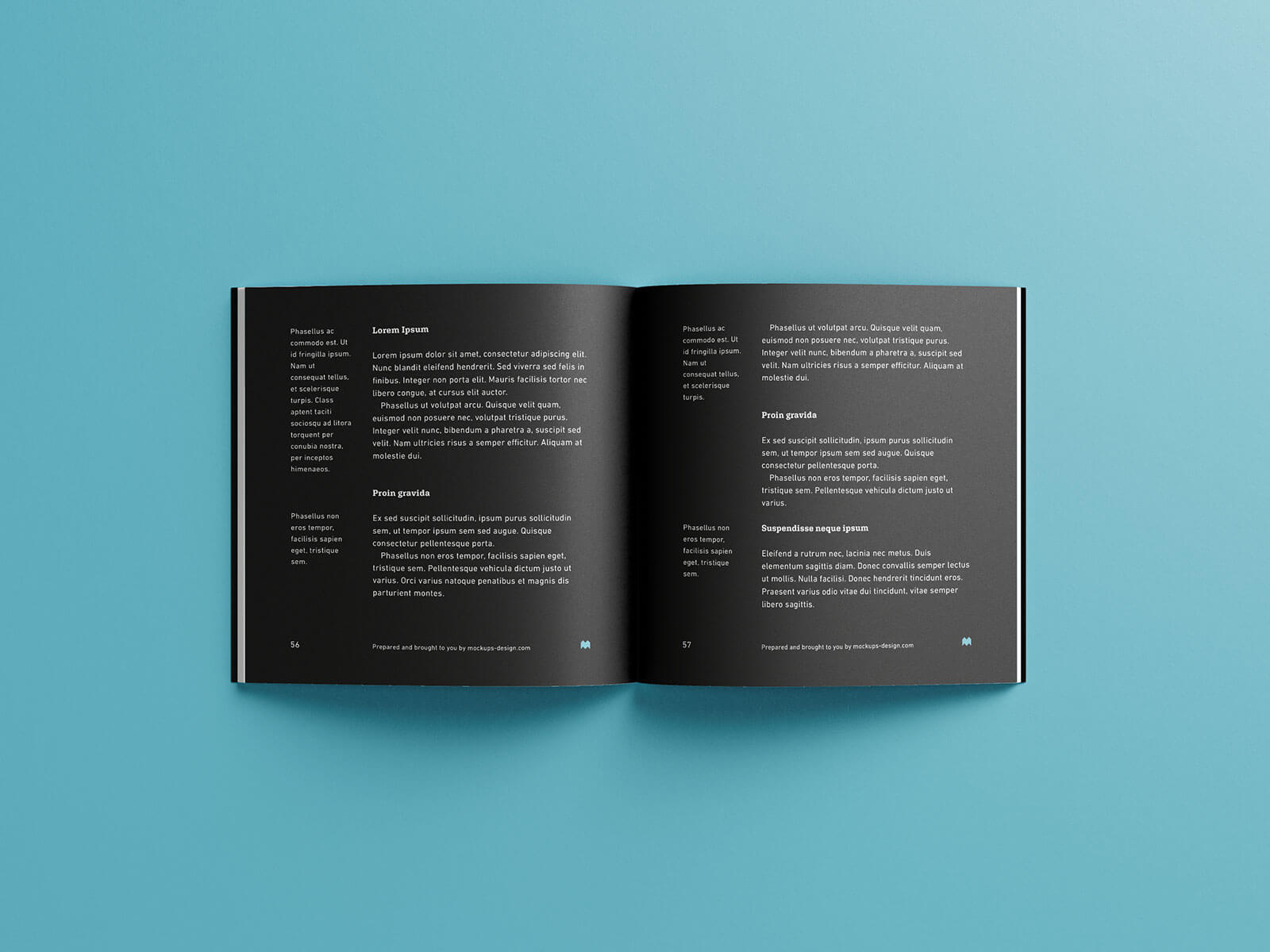 Free Paperback Square Book Mockup PSD Set