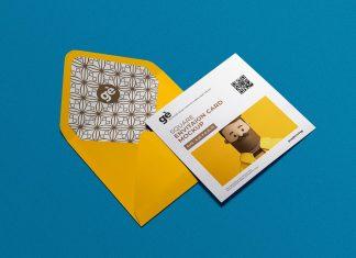 Free-Square-Invitation-Card-&-Envelope-Mockup-PSD