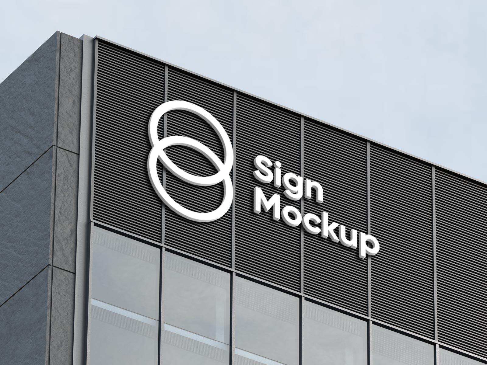 Free-Building-Sign-Company-Logo-Mockup-PSD-2