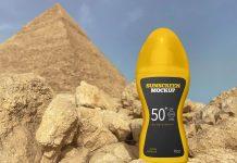 Free Sunscreen Spray Bottle Mockup PSD Set (1)