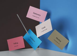 Free-Falling-Business-Cards-Mockup-PSD