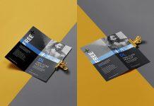Free-Front--Back-Bi-Fold-Brochure-Mockup-PSD-Set-(3