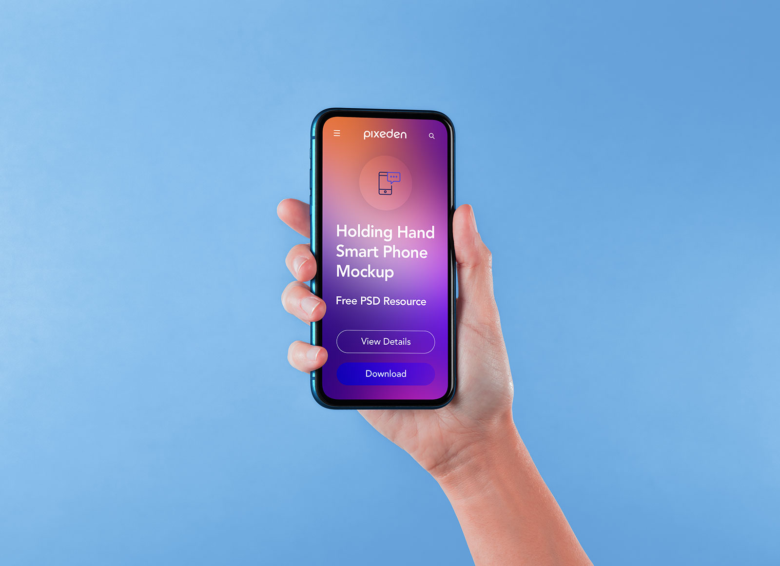 Free-Full-Screen-Hand-Holding-Smartphone-Mockup-PSD