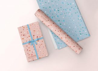 Free-Gift-Wrapping-Paper-Mockup-PSD
