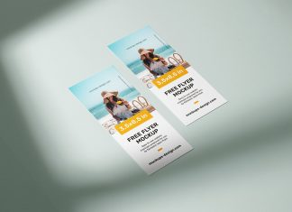 Free-Rack-Card-Flyer-Mockup-PSD-(Size-3,5-x-8,5-inches)