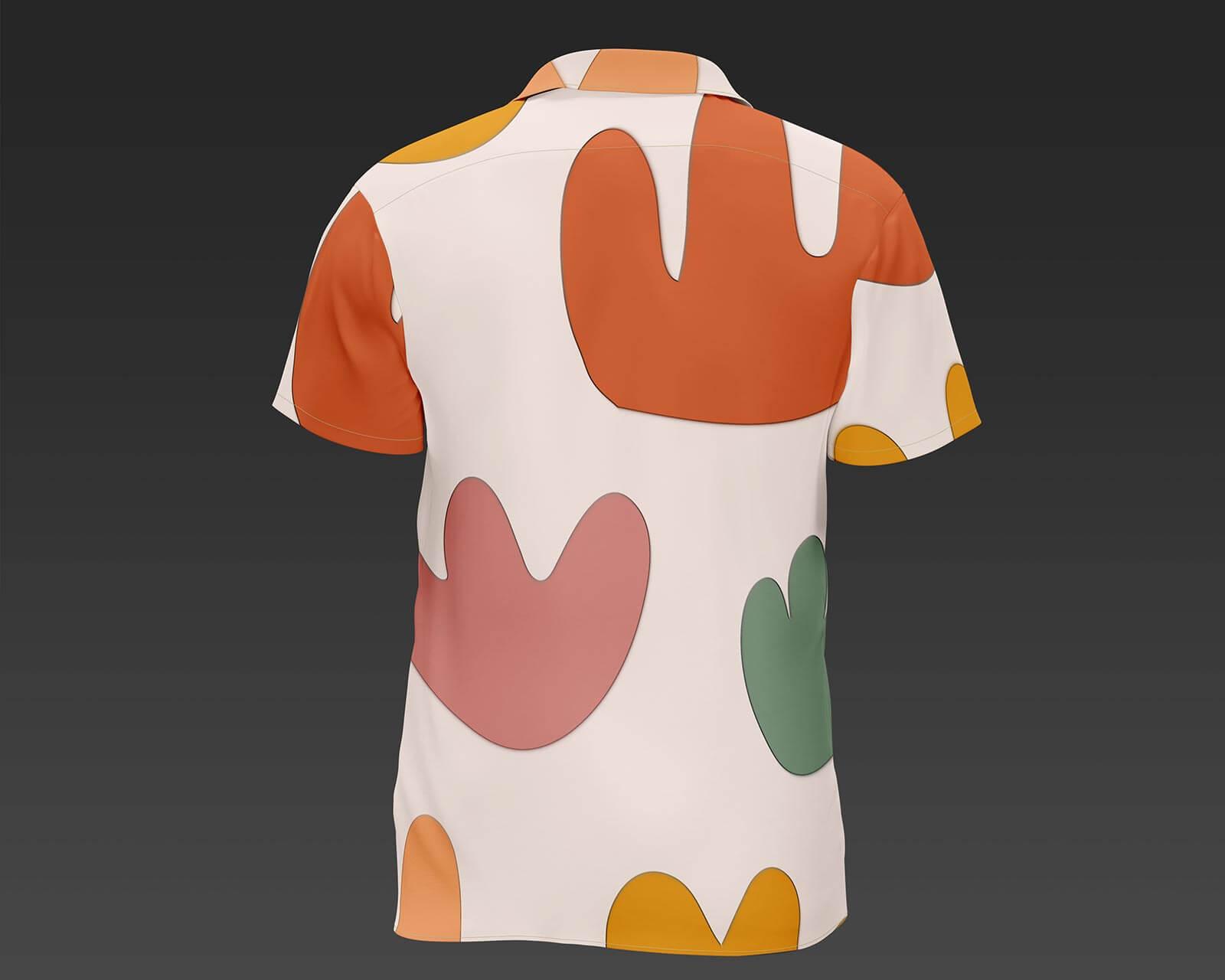 Free Short Sleeves T-Shirt Mockup PSD Set