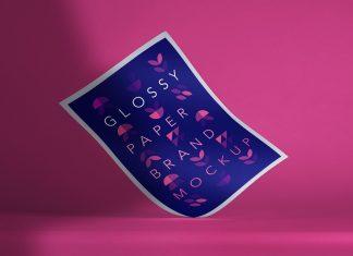 Free-Glossy-Flex-Paper-A4-Mockup-PSD