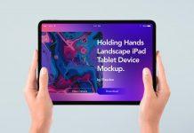 Free-Hand-Holding-iPad-Pro-Tablet-Mockup-PSD