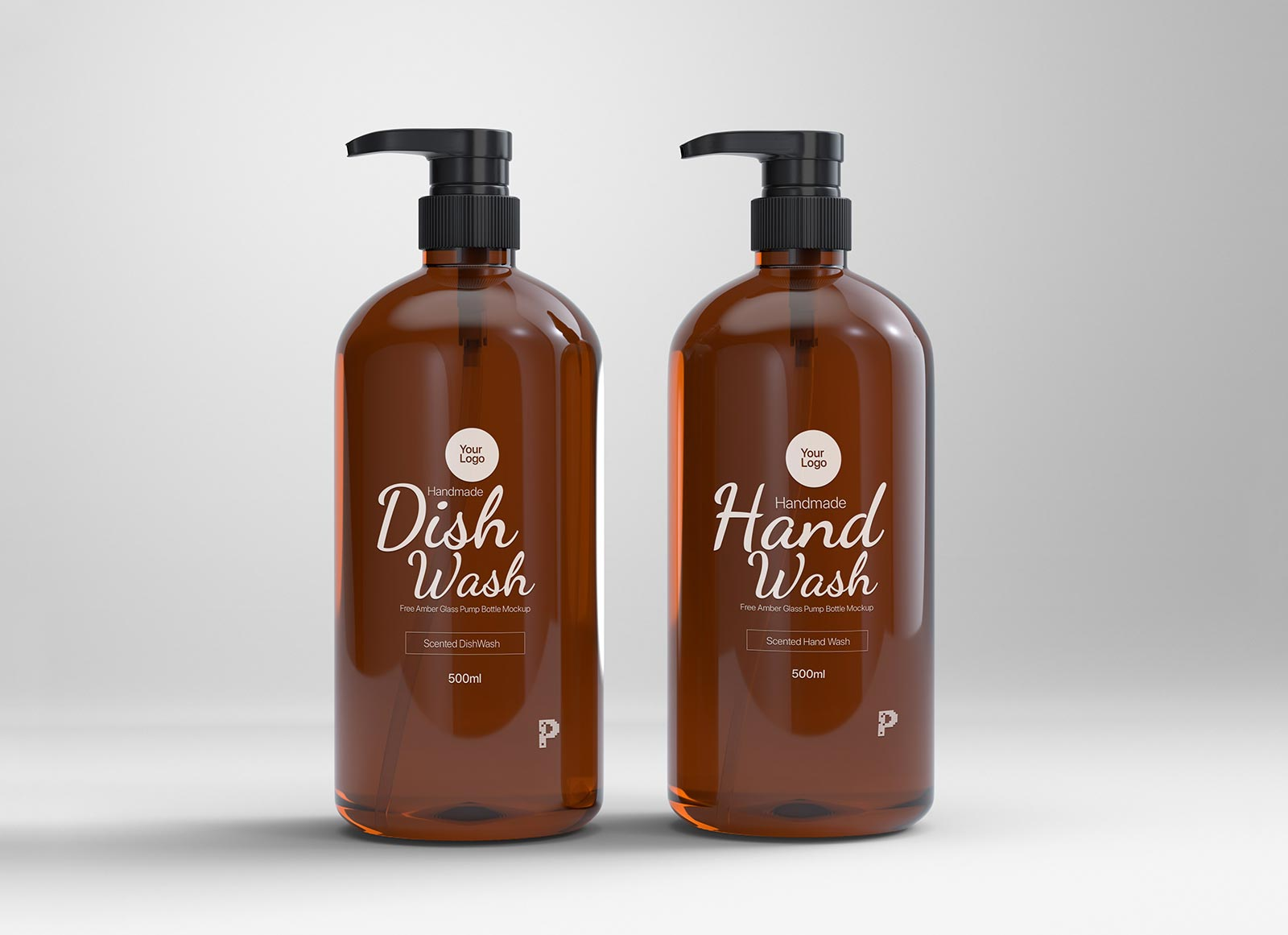 Free-Amber-Glass-Pump-Bottle-Mockup-PSD