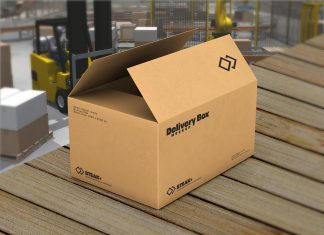 Free-Cardboard-Packaging-Delivery-Box-Mockup-PSD