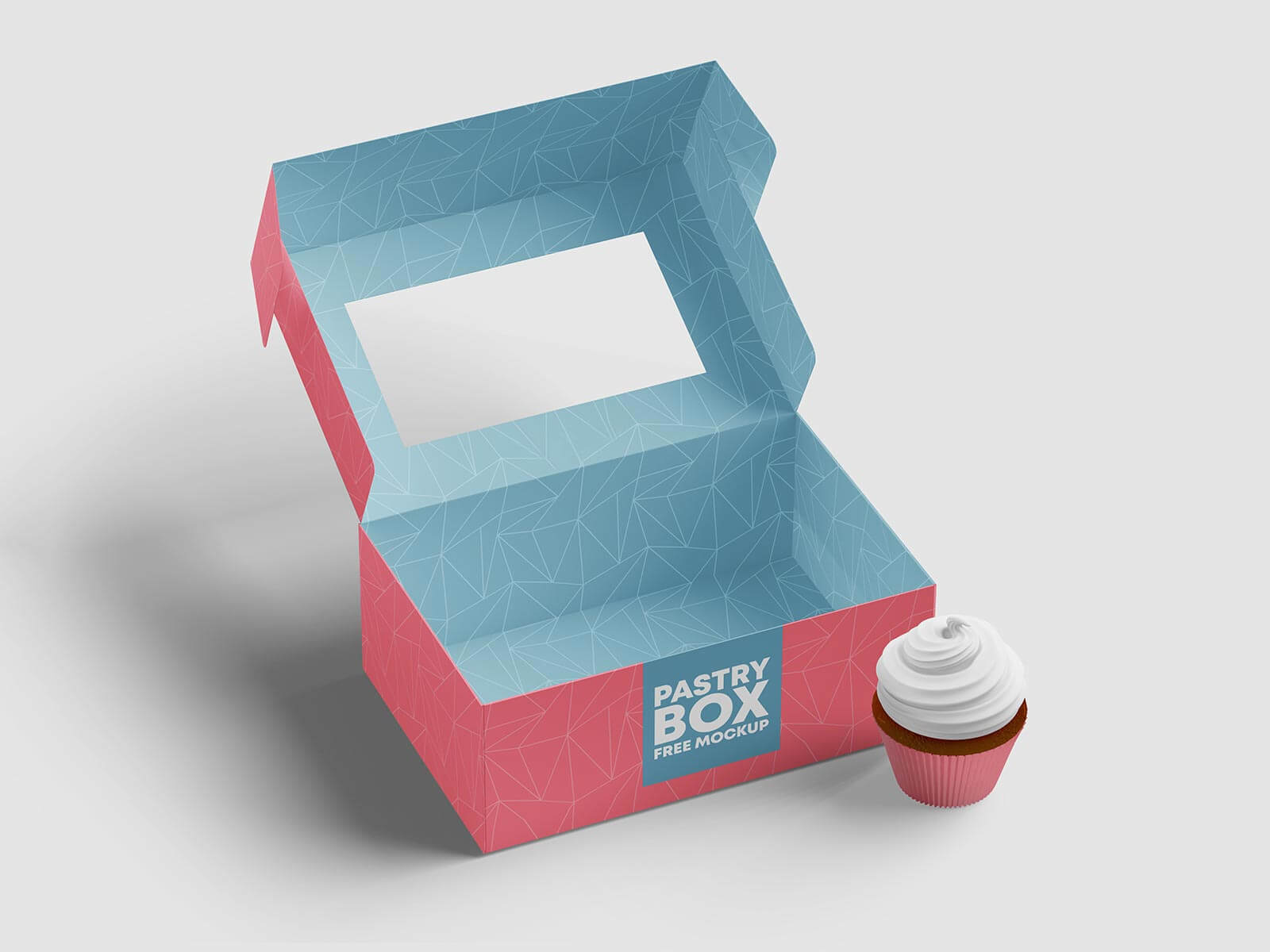 Free-Cup-Cakes-Pastry-Mockup-PSD-Set
